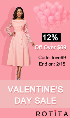Valentine's Day Sale 12% Off Over $69