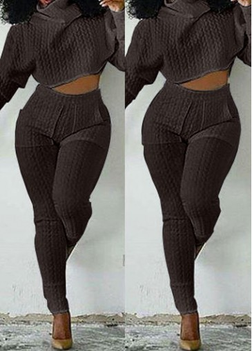 Buy online High Neck Long Sleeve Top and Pants