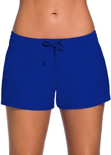 Charmleaks Woman Board Royal Blue Swimwear Shorts