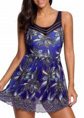Flower-Print-Tie-Back-Padded-Swimdress