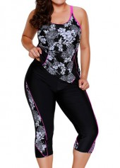 Printed-Racerback-Top-and-Swimwear-Cropped-Pants