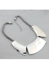 wholesale Snake Chain Silver Chunky Choker Necklace