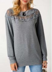 Round-Neck-Grey-Marl-Pullover-Sweatshirt