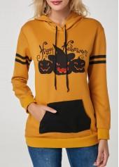 Kangaroo-Pocket-Pumpkin-Lamp-Print-Halloween-Hoodie