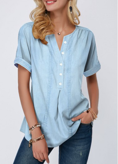5ad1fb2efd23b4 Women Blouse Designs, Women Blouses And Tops, Formal Blouses For Women