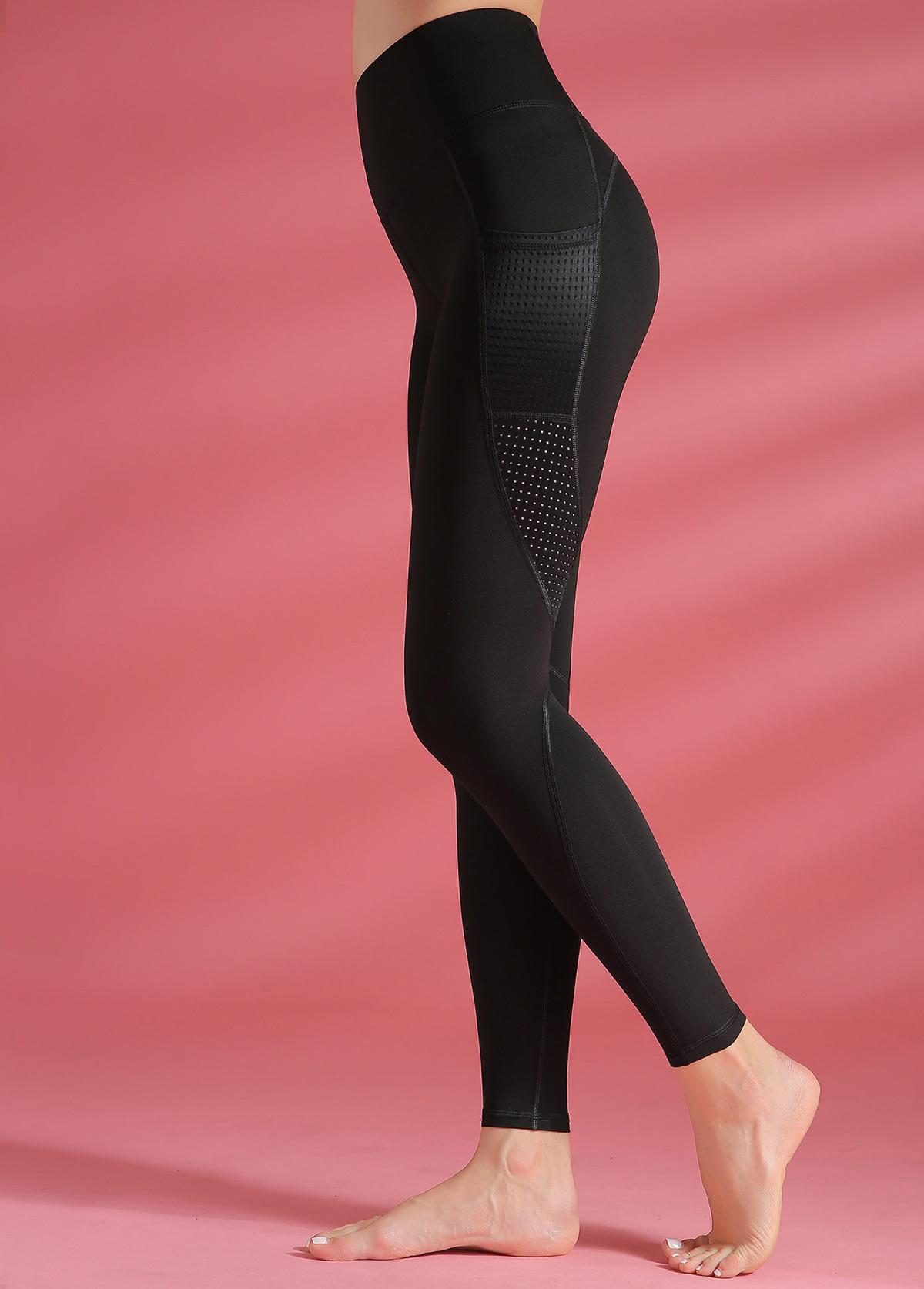 High Waist Black Yoga Leggings