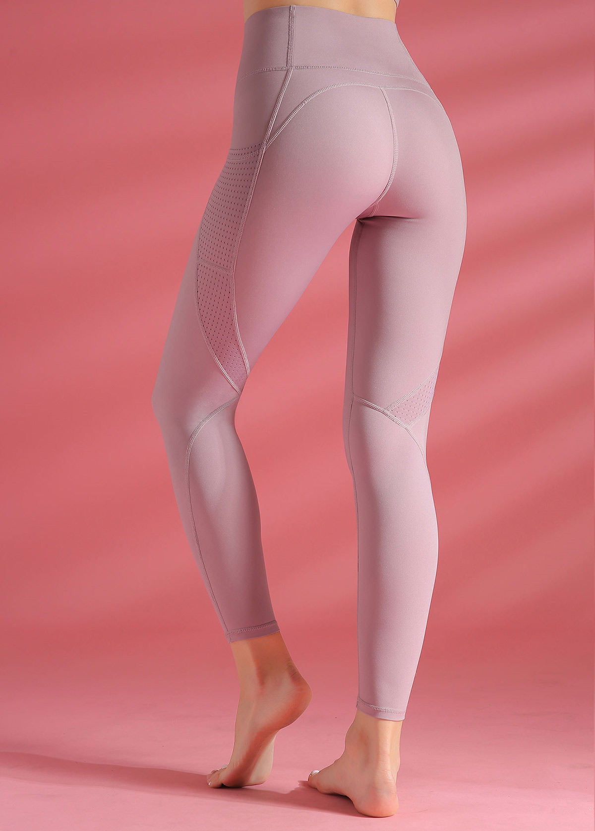 Light Purple High Waist Yoga Leggings