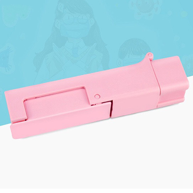 Portable Pink Touch-Preventing Tool