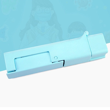 Portable Blue Touch-Preventing Tool