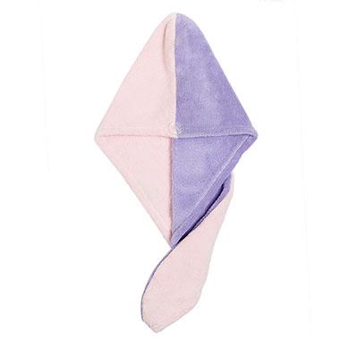 Color Block Hair Drying Cap for Women