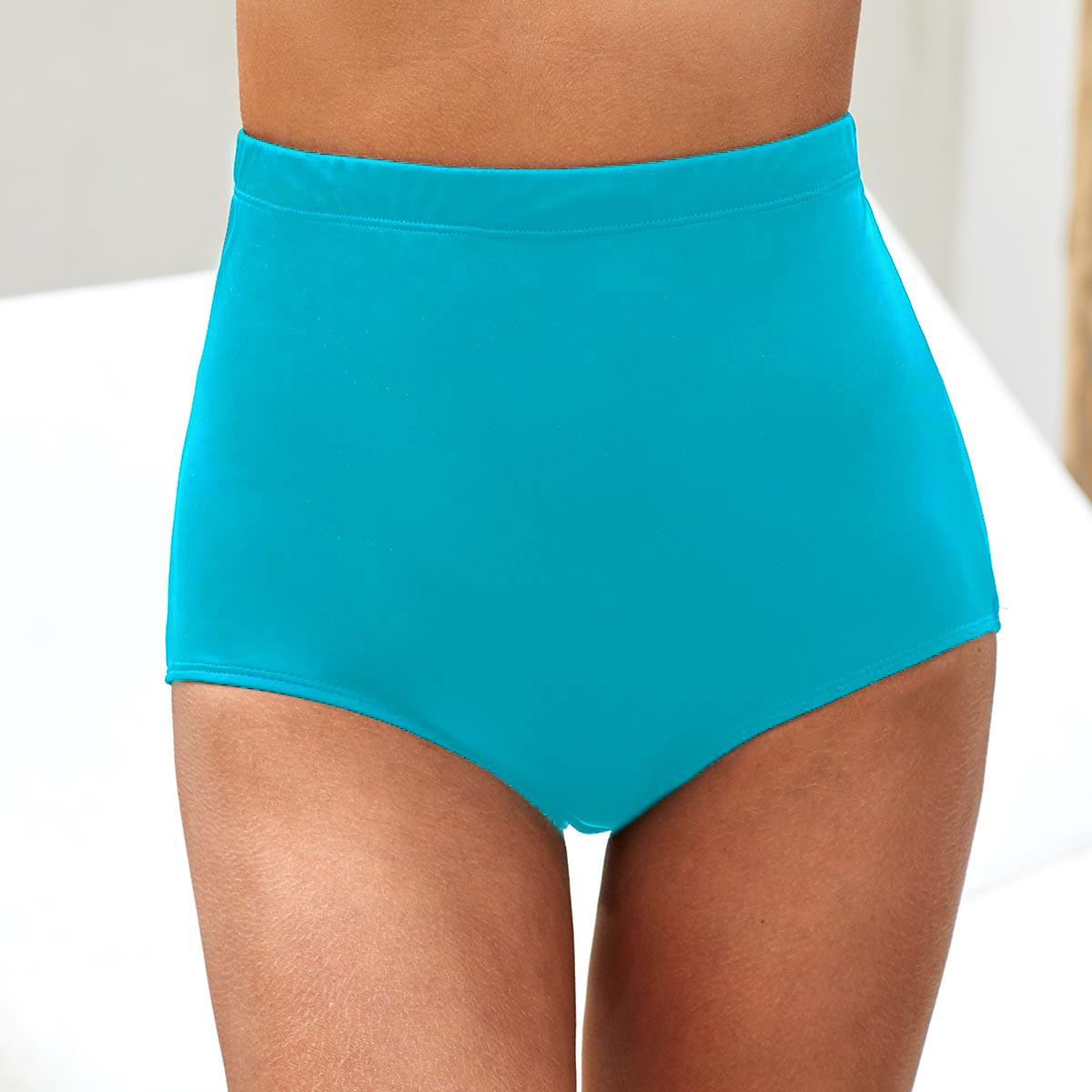 ROTITA High Waist Sky Blue Swimwear Panty