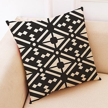 1pc Geometric Pattern 45 X 45cm Pillow Case