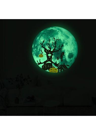 1pc 30 X 30cm Halloween Tree Luminous Sticker