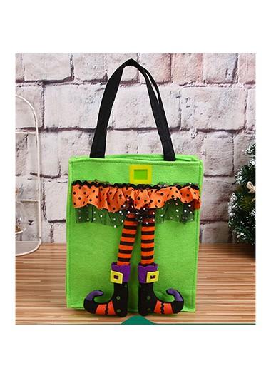 1pc 22 X 42cm Halloween Portable Candy Bag