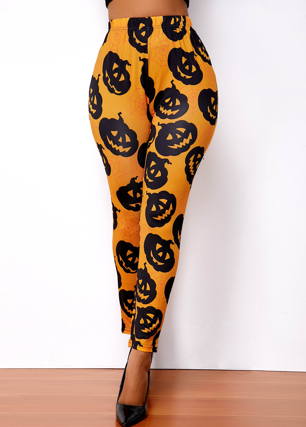 Halloween Print Super Elastic High Waist Legging