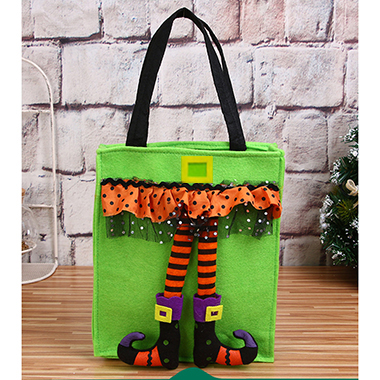1pc 22 X 42cm Halloween Portable Candy Bag