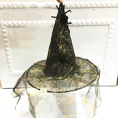 Halloween Spider Hot Stamping Witch Hat