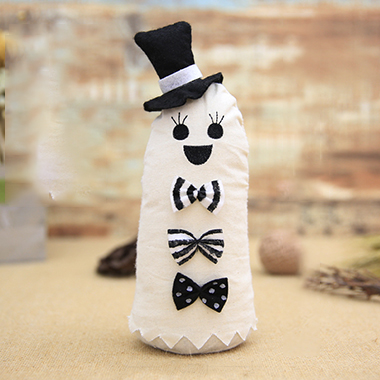 White Cloth Halloween Doll Ornament