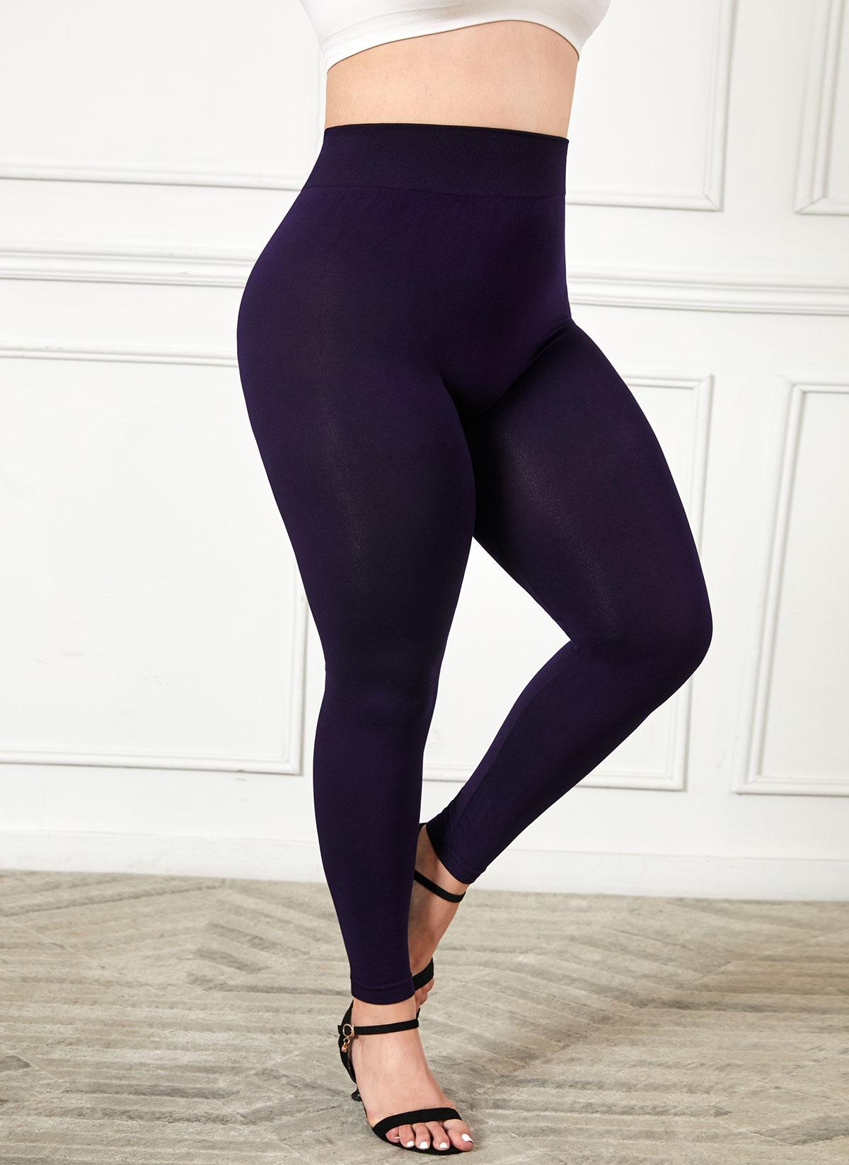 Super Elastic High Waist Plus Size Legging