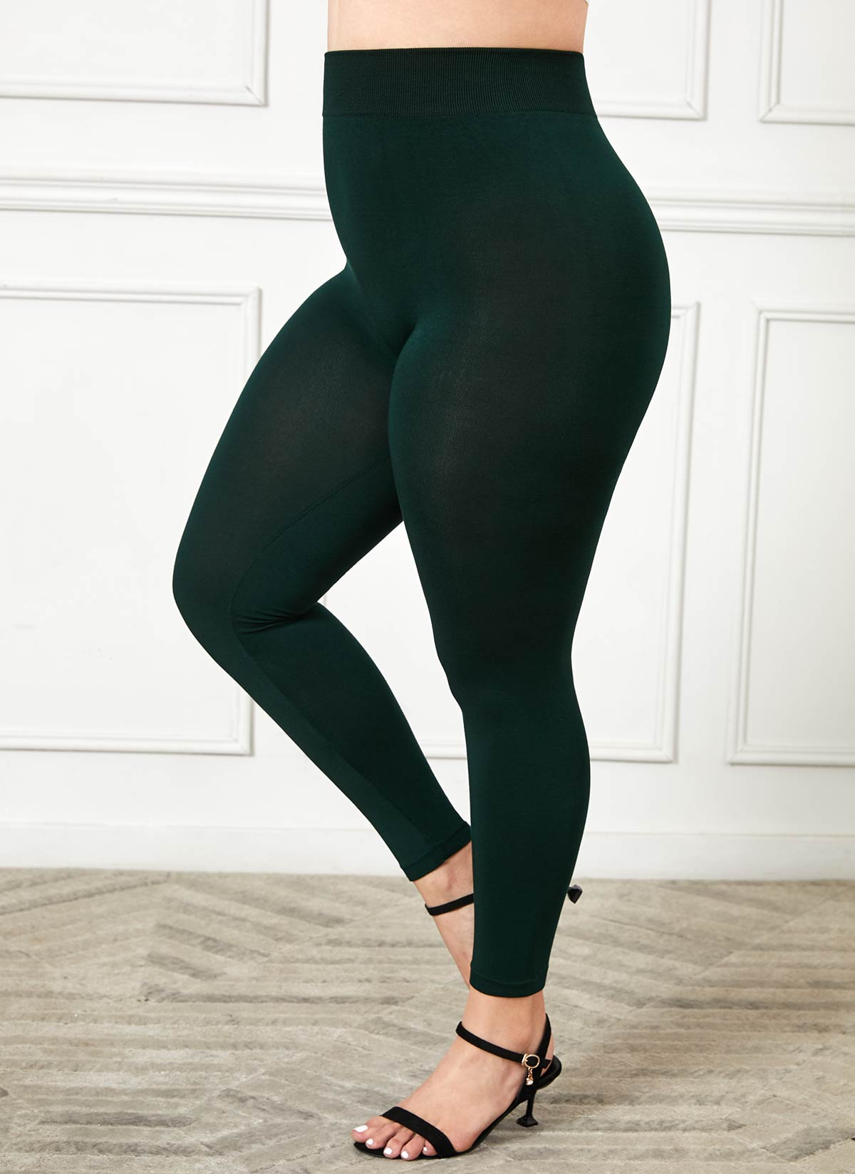 Plus Size Super Elastic High Waist Legging