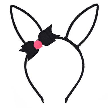 Rabbit Ears Plush Bowknot Easter Headband