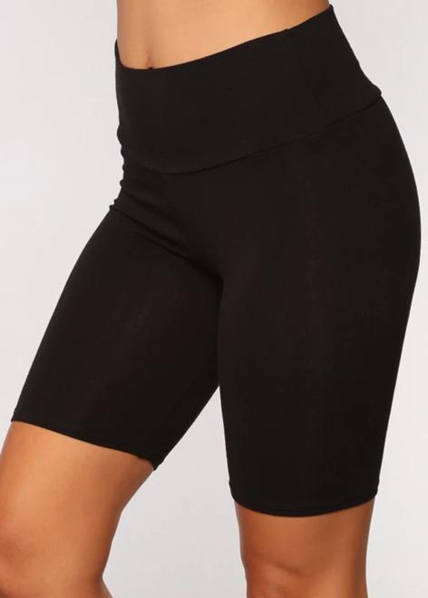 ROTITA Solid Skinny High Waist Sports Bottom