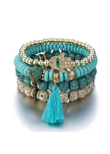 Bohemia Tassel Design Bracelets for Women
