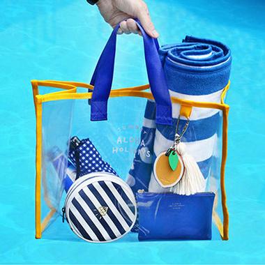 Contrast PVC Transparent Environmental Protection Storage Bag