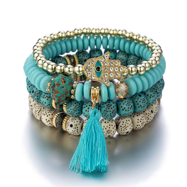 Bohemia Tassel Design Bracelets for Women