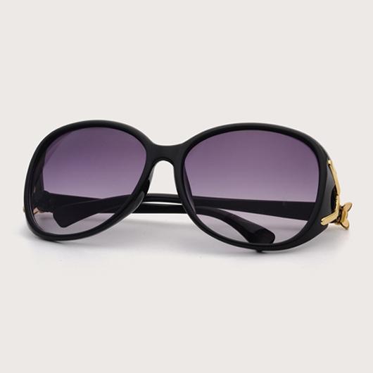 Cat Eye Frame TR Metal Detail Sunglasses