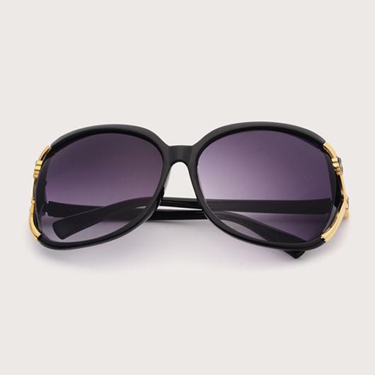 Cat Eye Detail Purple Sunglasses for Women